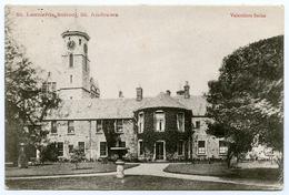 ST ANDREWS : ST. LEONARDS SCHOOL / POSTMARK - ST. ANDREWS - Fife