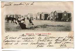 Heyst S/M. La Sieste Avant Le Bain - 1901 -  2 Scans - Heist