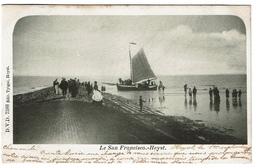 Le San Francisco - Heyst - 1901 -  Edit. Tytgat, D.V.D. 7388 - 2 Scans - Heist
