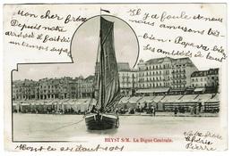 Heyst S/M. La Digue Centrale - 1901 - 2 Scans - Heist