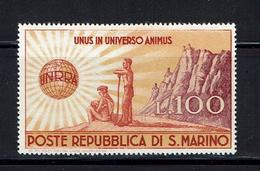 SAN MARINO...1946...mh - Unused Stamps