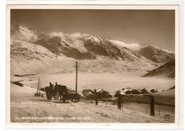 Cartolina VALLE SPLUGA - MONTESPLUGA  - 1936 - SONDRIO - Sondrio