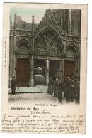 Souvenir De Huy - Portail De La Vierge - 1902 - Edit. Nels 7/53 - 2 Scans - Huy