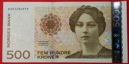 Norway 500 Kroner 2015 UNC Pic 51g - Norwegen