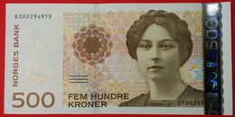 Norway 500 Kroner 2015 UNC Pic 51g - Norvège