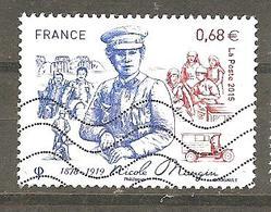 FRANCE 2015 NICOLE MANGIN 1878-1919 OBLITERE YT 4936 - France