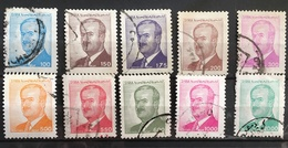 Syria 1986/90   Pres.Hafez Al Assad  POSTAGE FEE TO BE ADDED ON ALL ITEMS - Syria