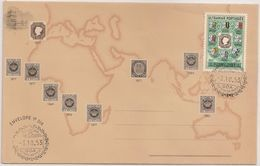 Estado Da India FDC 1953 - Centenario Do Selo Postal Português - Portuguese Colony - Colonie Portugaise - Cancel Goa - Portuguese India