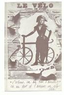 CPSM Journal Des Sports Le Vélo Reproduit Par Fabis - Voir Recto - Format 9/14 Cm - Cartes Postales