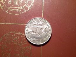 5 Escudos 1948.   MBC  Silver - Portugal