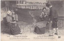 F66-001 TYPES CATALANS - Le Bouquet De Fiançailles - Personnages