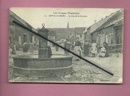 CPA  - Liffol Le Grand  - La Rue De La Gravière - Les Vosges Illustrées - Liffol Le Grand