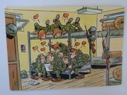 TI - Carte HUMOUR Militaire  - Illustrareur MAZEL - CHAMBR2E - Humor