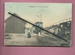 CPA -  Gerardmer -La Gare Du Hohneck  -  (train , Locomotive , Tramway ) - Gerardmer