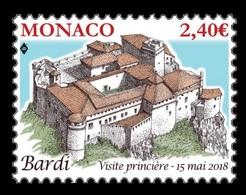 Monaco 2018 Mih. 3397 Bardi Fortress MNH ** - Monaco
