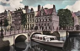 AMSTERDAM - O.Z Voorburgwal Met Huis A. D. Drie Grachten - Amsterdam