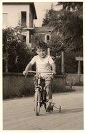 BAMBINO CON BICICLETA-VERA FOTO ANNI 40 ? - Ciclismo