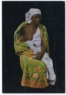 ZAIRE-JEUNE MAMAN/MOTHER SUCKLING HER CHILD - SEINS NUS / BREAST NUDE / BUKAVU CANCEL 1976 - Afrique Du Sud, Est, Ouest