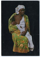 ZAIRE-JEUNE MAMAN/MOTHER SUCKLING HER CHILD - SEINS NUS / BREAST NUDE / BUKAVU CANCEL 1976 - South, East, West Africa