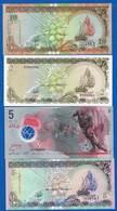 Maldive  4  Billets - Maldives