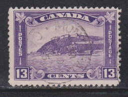 CANADA Scott # 201 Used - View Of Quebec Citadel - 1911-1935 Reign Of George V