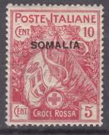 Italy Colonies Somalia 1916 Sassone#19 Mint Hinged - Somalie