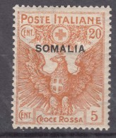 Italy Colonies Somalia 1916 Sassone#20 Mint Hinged - Somalia