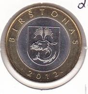 Lithuania - 2 Litai 2012 - Set Of 4 Coins - Bimetallic - UNC - Lituania