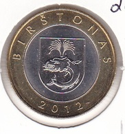 Lithuania - 2 Litai 2012 - Set Of 4 Coins - Bimetallic - UNC - Lithuania
