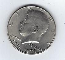 Monnaie US Half Dollar 1976 Kennedy - Émissions Fédérales