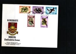 Kiribati 1983 Birds FDC - Marine Web-footed Birds