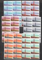Lighthouse Govt Life Insurance SG L64-9  Blocks Of 10 UM - MNH - Unused Stamps