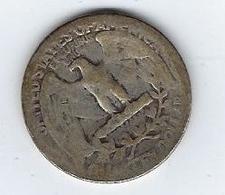 US Quarter Dollar 1/4 Dollar 25 Cents 1937 - Émissions Fédérales