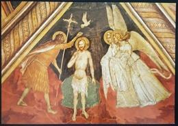 ABBAZIA DI VIBOLDONE - SAN GIULIANO MILANESE - Battesimo Di Gesù - Maestro Lombardo XIV Sec.  Nv - Milano