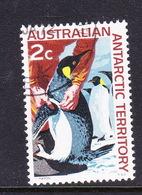Australian Antarctic Territory  S 9 1966 Decimal Definitives 2c Penguins Used - Used Stamps