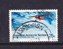 Australian Antarctic Territory S 30 1973 Definitives 25c Lockheed Used - Used Stamps
