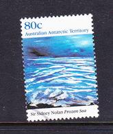Australian Antarctic Territory  S 87 1989 Antarctic Landscapes 80c Frozen Sea Used - Used Stamps