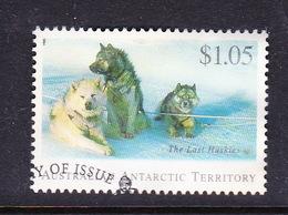Australian Antarctic Territory  S 101 1994 The Last Huskies $ 1.05 Husky Used - Used Stamps