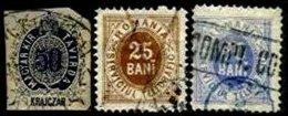 ROMANIA, Telegraphs, Used, Ave/F - Télégraphes