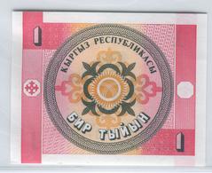 KYRGYZSTAN 1 1993 1 Tyiyn UNC - Kyrgyzstan