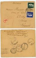 PNEUMATIQUE SUR LETTRE EXPRES ALLEMAGNE 1943 OPLADEN  VOIR LES SCANS - Marcophilie (Lettres)
