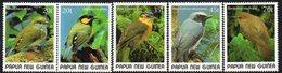 PAPUA NEW GUINEA, 1989 SMALL BIRDS 5 MNH - Papua New Guinea