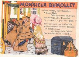 CHROMO Alcool De Menthe RICQLES  - MONSIEUR DUMOLLET  - BARA1  - - Autres