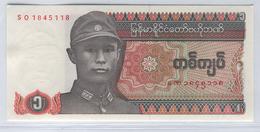 MYANMAR 67 1990 1 Kyat UNC - Myanmar