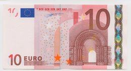 10 - BILLET 10 EURO 2002 NEUF Signature Wim Duisenberg N°U10176786149 Imp L009C2 - EURO
