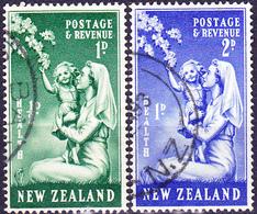 Neuseeland New Zealand - Gesundheit Kinderschwester Mit Kind (MiNr: 3 7/8) 1949 - Gest Used Obl - Used Stamps