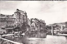 12----ESPALION---cité Des Peintres. Le Vieux Palais Et Vieilles Maisons--voir 2 Scans - Espalion