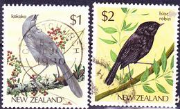 Neuseeland New Zealand - Vögel (MiNr: 931/2) 1985 - Gest Used Obl - Used Stamps