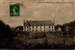 22-CHATEAU DE LA MOGLAIS,PRES LAMBALLE...CPA - Lamballe