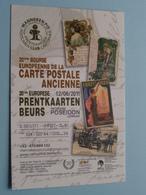 Manneken-Pis PRENTKAARTEN / Carte Postale Ancienne 12/06/2011 ( Verschillende Nummers Zie Beschrijving ) BRUSSEL ! - Bourses & Salons De Collections